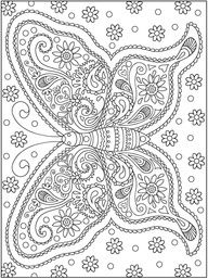 Awesome Coloring Pages for Adults | Awesome Coloring Pages For Adults | Welcome to Dover Publications