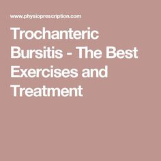 Trochanteric bursitis: Heal fast and strong - Find out what it is, what causes it, and what are the best exercises and treatment. Hip Strengthening Exercises, Physical Therapy Exercises, Hip Pain Relief, Sciatica Pain Relief, Snapping Hip Syndrome, Yoga Poses For Sciatica, Bursitis Hip, Psoas Release, Knee Replacement Surgery
