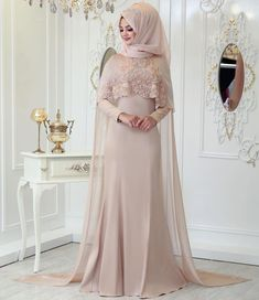 2018 Hijab Velvet Evening Dress Models, www. Muslimah Wedding Dress, Hijab Wedding Dresses, Event Dresses, Bridal Dresses, Hijab Evening Dress, Hijab Dress Party, Hijab Style Dress, Hijabi Gowns, Pakistani Dresses