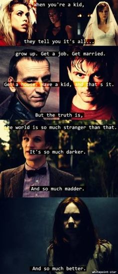 Doctor Who quote of awesome