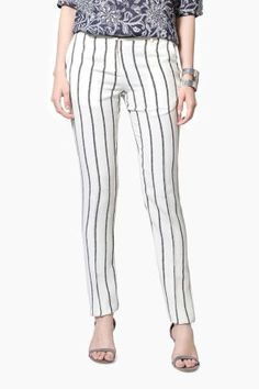 d39ccf49e32  vipazza  indianofficefashion  Printed Trousers for work  vanheusen  whitetrousers