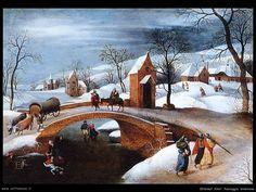 quadri famosi paesaggi invernali - Cerca con Google