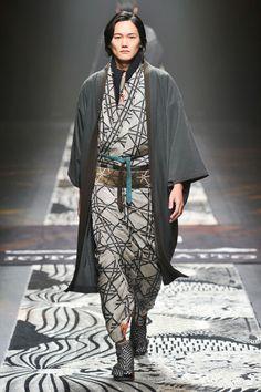 Những soái ca kimono chỉ có tại Tuần lễ thời trang Tokyo - Ảnh 6.