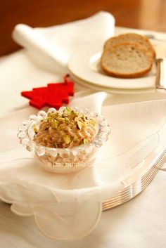 Ricette per Natale: mousse di prosciutto e pistacchi