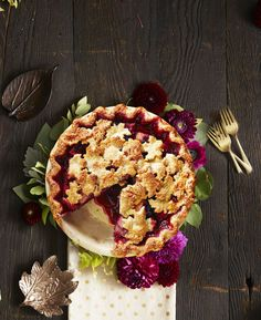 Harvest Pear-Blackberry Piegoodhousemag