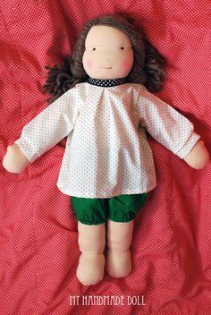 petit à petit and family: ++ My Handmade Doll ++