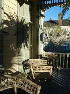 Catherine Ward House Inn - Savannah, GA - Front Porch #relaxing