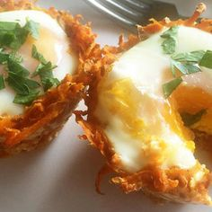 How to Make Eggs in Sweet Potato Nests - Food - Health.com
