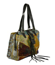 Vintage Style Multicolor Stylish Handbag   #styleincraft #handbag #shoulderbag #handmadebag