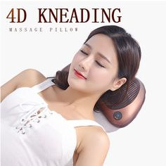 Angelruila 4d kneading heating massage,help you release from pain,use for neck shoulder back hands feet and so on