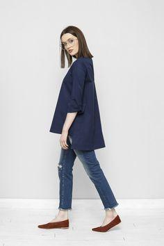 Koszula z rozporkami Petra – Freeshion Petra, Bell Sleeves, Bell Sleeve Top, Polo, Women, Fashion, Tunic, Moda, Polos