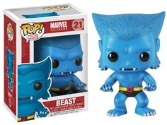 Funko POP! Marvel X-Men Beast Vinyl Bobble Head Action Figure 21 #FUNKO