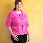 Save up to 75% off during the Lightweight Looks: Plus-Size Jackets event on #zulily today!