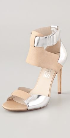"""Couldn't get Michael Kors if you was f*ckin Michael Kors!"" Nicki, these shoes are close enough for me. --KORS Michael Kors Atherton Two Tone Sandals Pretty Shoes, Beautiful Shoes, Cute Shoes, Me Too Shoes, Women's Shoes, Shoe Boots, High Heel Pumps, Look Fashion, Fashion Shoes"