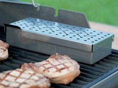 Amazon.com: Weber 7576 Universal Stainless Steel Smoker Box: Patio, Lawn & Garden