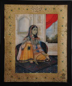 Rani Jodhbai or Mariam-uz-Zamani – 19 May was a wife of the Emperor Akbar. Mughal Miniature Paintings, Mughal Paintings, King Of India, Delhi Sultanate, History Of Pakistan, Religious Tolerance, Mughal Architecture, Indian Folk Art, Mughal Empire