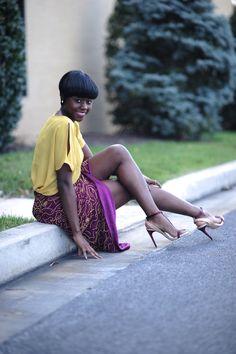 Skinny Hipster / Embellished Skirt: Mustard + Burgundy. //  #Fashion, #FashionBlog, #FashionBlogger, #Ootd, #OutfitOfTheDay, #Style