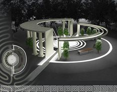 51 Ideas art gallery architecture plan behance for 2019 Concept Models Architecture, Architecture Building Design, Landscape Architecture Drawing, Landscape Design Plans, Pavilion Architecture, Futuristic Architecture, Sustainable Architecture, Urban Landscape, Residential Architecture
