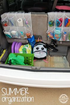 Car Organization Ideas – Just in Time for Summer!