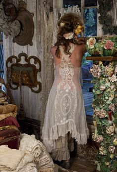 Whimsical dress ... nothing I dislike about this picture/dress/bloomers