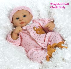 Baby Dolls | Looking for Real Baby Dolls? Check out on Baby Abigail, 16 inches from ...