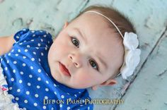 Felt Flower Headband Baby Headband Photo Prop by DarlingDelilah777, $5.00