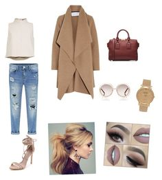 """""""Untitled #6"""" by lydiabickford on Polyvore featuring beauty, TIBI, Harris Wharf London, Schutz, Burberry, Chloé and Shore Projects"""