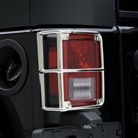 Jeep Wrangler (JK) Jeep Stainless Tail Light Guards Stainless