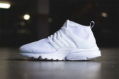 "Here's the Best Look Yet at the ""All-White"" Nike Air Presto Flyknit"