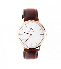 Daniel Wellington Classic St. Mawes Watch in Brown