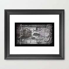 #ERROR57.10 Framed Art Print by pixel404 - $37.00