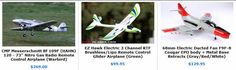RC Airplanes   RC Nitro Remote Control Radio Control R/C Jets, Aircraft and XHELI RC Helicopters