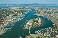 Coast Guard Island, Oakland Inner Harbor, California | Robert Campbell Photography