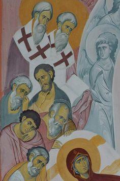 Mama Mary, Byzantine Icons, Christ, Blessed, Album, Painting, Beautiful, Impressionism, Painting Art