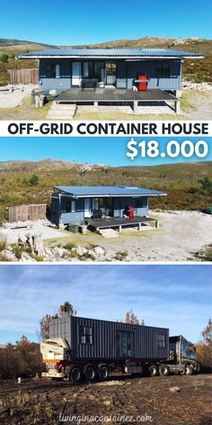 Cargo Container Homes, Building A Container Home, Container Buildings, Container House Plans, Container House Design, Shipping Container Homes, Shipping Containers, Modern Tiny House, Tiny House Cabin