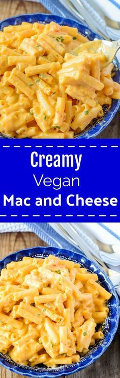 Creamy Vegan Mac and Cheese, so easy and delicious!