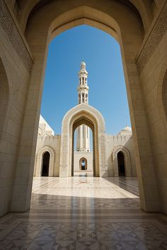 Sultan Qaboos Grand Mosque, Muscat, Oman (Place where the picture of Queen Beatrix and Prince and Princess Willem-Alexander and Maxima was taken.) Been there Spring, 2013.