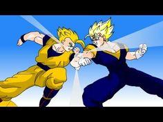 DragonBall Z - Majin Vegetto Returns Movie (DBZ Animation)