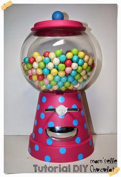 Hacer una falsa Maquina de chicles - Create your Bubble Gum Machine