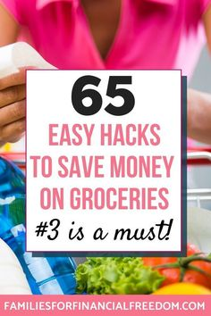 I love these tips to save money on groceries! Save money on your budget with these ways to save money on groceries tips! frugal living groceries m Money Saving Meals, Best Money Saving Tips, Save Money On Groceries, Ways To Save Money, Money Tips, Groceries Budget, Frugal Living Tips, Frugal Tips, Budget App