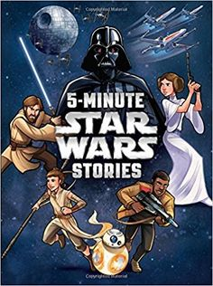 Star Wars: 5-Minute Star Wars Stories (5-Minute Stories): Lucasfilm Press: 9781484728208: Amazon.com: Books
