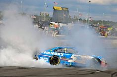 Kasey Kahne's win 8/4/13 win at Pocono  was the only fair thing. Birthday boys   Jeff Gordon & Kurt Busch finished 2nd & 3rd. AND crew chiefs Chad Knaus and Alan Gustafson have b-days tomorrow.-- photo courtesy of Hendrick Motorsport.  #HappyBirthday to all