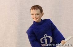 """""""Я буду чемпионом"""" шарнирная портретная кукла - портретная кукла. МегаГрад - online выставка-продажа авторской ручной работы"""