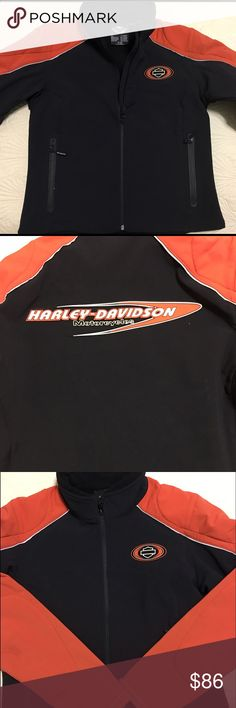 Selling this Genuine Harley Davidson Women's jacket Sz M on Poshmark! My username is: runnerprincess. #shopmycloset #poshmark #fashion #shopping #style #forsale #Harley-Davidson #Jackets & Blazers