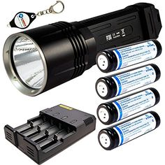 BUNDLE Nitecore P36 Tactica Precise Series CREE MTG2 LED 2000 lumens Flashlight w 4x Xtar 18650 2600mAh LiIon batteries 1x i4 Intellicharger and FREE Lightjunction Keychain  FREE SHIPPING * Find out more about the great product at the image link. This is an Amazon Affiliate links.