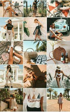 Ig Feed Ideas, Instagram Feed Ideas Posts, Instagram Feed Layout, Instagram Design, Instagram Story Ideas, Cl Instagram, Best Instagram Feeds, Summer Feed Instagram, Photos