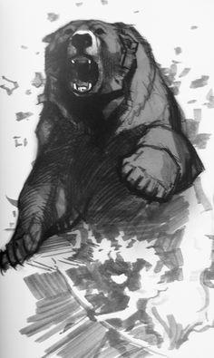 aaron blaise bear art tattoo - Google Search