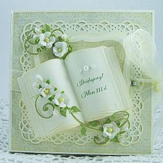 Marianne Design birthday and celebrations themed cutting dies. Wedding Anniversary Cards, Wedding Cards, Scrapbook Cards, Scrapbooking, Confirmation Cards, Marianne Design Cards, Hand Made Greeting Cards, Card Book, Engagement Cards