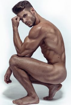 Naked hot male
