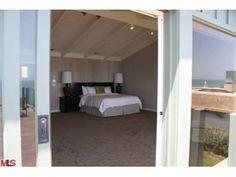 Leonardo DiCaprio's Malibu estate opens onto the beach.